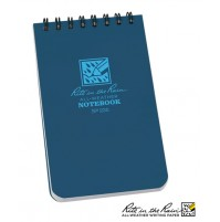 "Rite In The Rain 3""x 5"" Waterproof Pocket Notepad 50 Sheets No. 235 NEW Blue"