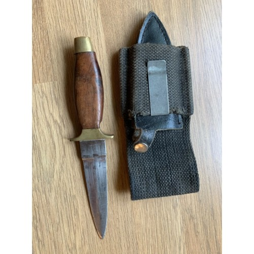 SPECIAL FORCES DAGGER WITH SHEATH, WEBBING LOOP