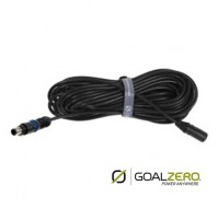 Goal Zero 8.0mm Input 30ft Extension Cable (Compatible with Goal Zero Boulder & Nomad Solar Panels)