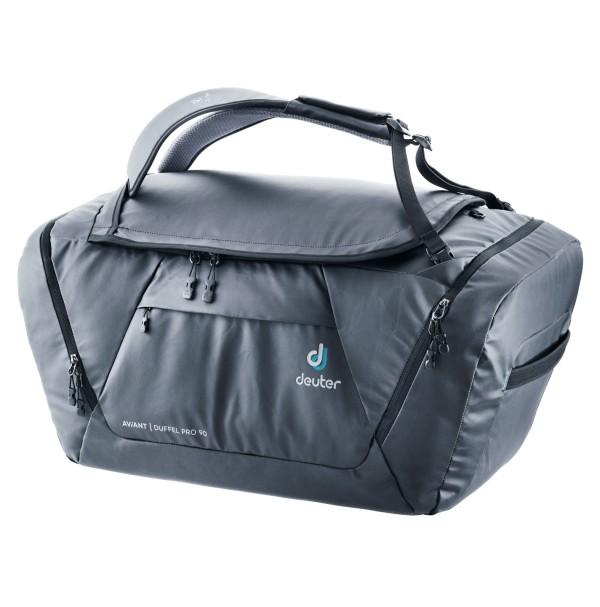 DEUTER AVIANT DUFFEL PRO 90 Litre BLACK DEPLOYMENT BAG RRP £119.99