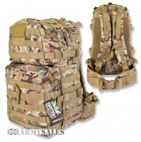 Kombat UK BTP Camo Molle 40L Assault Pack