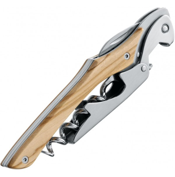 Farfalli Prestige Corkscrew Olive Wood Handle