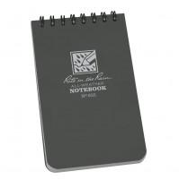 "Rite In The Rain 3""x 5"" Waterproof Pocket Notepad 50 Sheets No.835 NEW Grey"