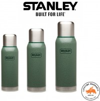 Stanley Adventure Stainless Steel Vacuum Bottle - Hammertone Green