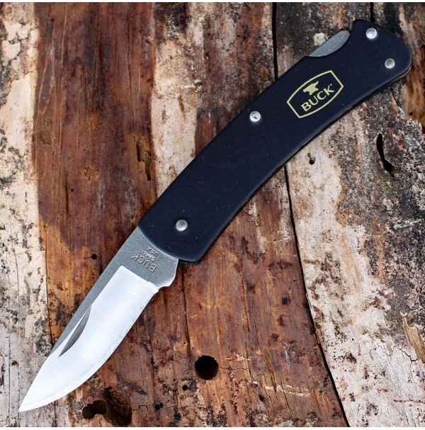 Buck Knife ALUMNI Black
