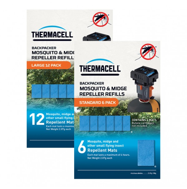 Thermacell Backpacker Mosquito and Midge Repeller REFILLS