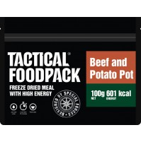 Tactical Foodpack Beef & Potato Pot High Energy Freeze Dried Ration Pack