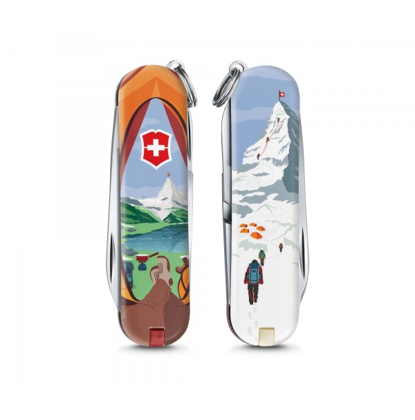 Victorinox Classic Call of Nature - Small Pocket Knife - Limited Edition 2018