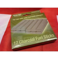 Jack Pyke Charcoal Fuel Sticks for Hand Warmer