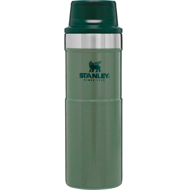 Stanley Classic Trigger Action Travel Mug 16 oz (0.47L) Hammertone Green