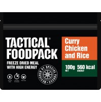 Tactical Foodpack Curry Chicken & Rice High Energy Freeze Dried Meal