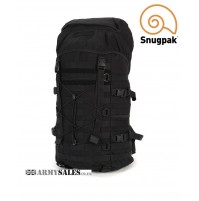 Snugpak ENDURANCE 40L BLACK Tactical Molle Day / Patrol Pack Bladder Compatible