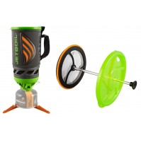 Jetboil FLASH 2.0 JAVA  ECTO Coffee Press Kit Lightweight Premium Camping Stove System