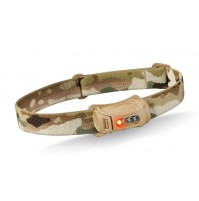 Princeton Tec FRED Headlamp Tan / Multicam - lightweight, red for night vision