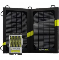 GOAL ZERO Guide 10 Plus Solar Kit - Recharger & Portable Nomad Solar Panel