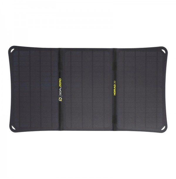 Goal Zero Nomad 20 Foldable Solar Panel. Solar Charger. Charge phone, GPS + MORE