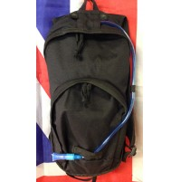Tactical Black 10L Hydration / Day Pack with 1.5L Bladder by Web-Tex
