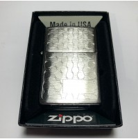 Genuine ZIPPO 200 Tailored Jewelry Brushed Chrome Traditional Windproof Lighter