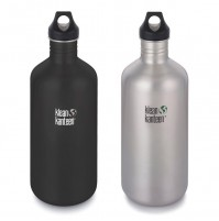 Klean Kanteen CLASSIC 1900ml Single Wall Stainless Steel Water Bottle w/Loop Cap
