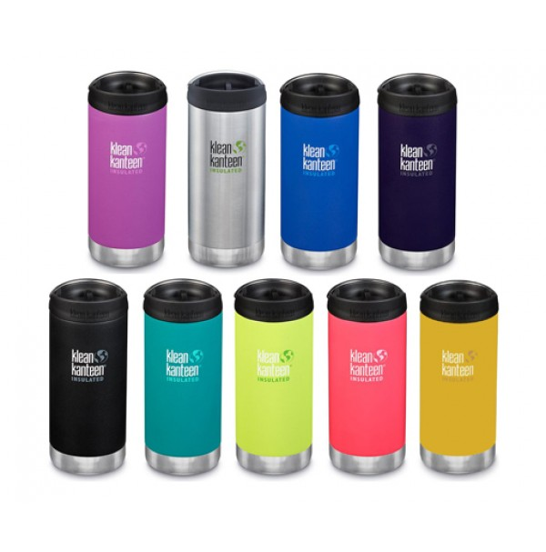 Klean Kanteen Insulated TKWide Travel Mug with Cafe Cap 355ml ALL COLOURS