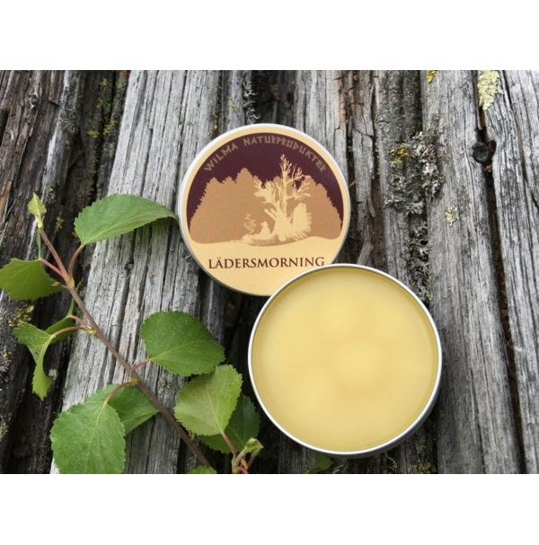 WILMAS LADERSMORNING light organic leather lubrication for shoes & leather goods
