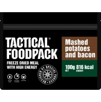 Tactical Foodpack Mashed Potatoes & Bacon High Energy Freeze Dried Meal