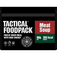 Tactical Foodpack Meat Soup High Energy Freeze Dried Meal