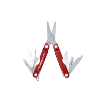 LEATHERMAN MICRA® KEYCHAIN MULTI-TOOL - RED With Presentation Box.  Limited Edition