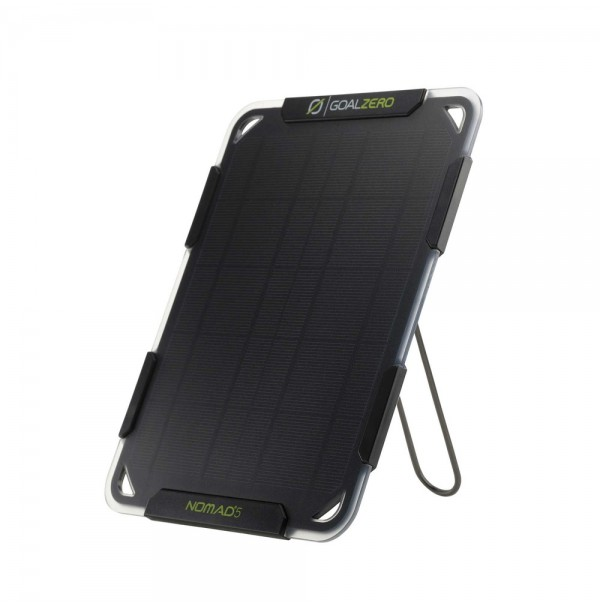 Goal Zero Nomad 5 Solar USB Charger. Charge phone, GoPro, GPS From The Sun