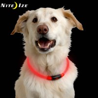 Nite Ize Nite Howl LED Safety Dog Collar RED