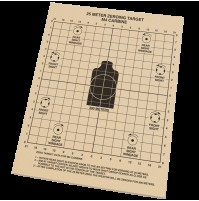 "Rite in the Rain No 9125 25 Metre Zeroing Targets 8 1/2"" x 11"""