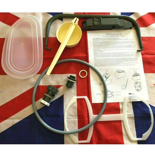 British Army 18 Litre Norwegian Food Container (NORGIE) Replacement Spare Parts (Ranging from £7.99 to £24.99)