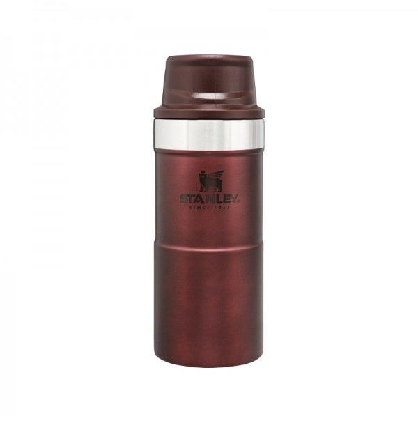 Stanley Classic Trigger Action Travel Mug 12 oz 0.35L WINE RED