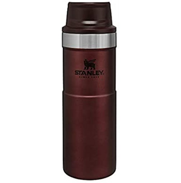 Stanley Classic Trigger Action Travel Mug 16 oz (0.47L) WINE RED