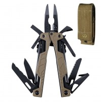 Leatherman OHT (One Hand Tool) Multi-Tool - Coyote with Tan Molle Sheath