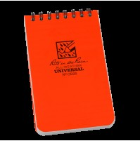 "Rite In The Rain 3""x 5"" Waterproof Pocket Notepad ORANGE No OR35"