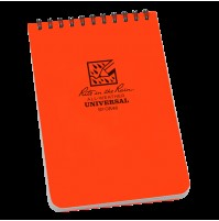 "Rite In The Rain 4""x 6"" Waterproof Pocket Notepad ORANGE No OR46"