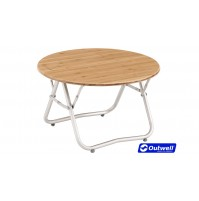 Outwell Kimberley Bamboo Table - Small Folding Occasional Table