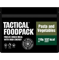 Tactical Foodpack Pasta & Vegetables High Energy Freeze Dried Meal