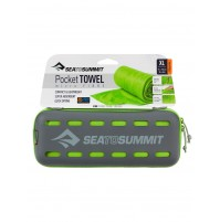 Sea to Summit POCKET TOWEL XL Lime Green  Lightweight Microfibre Travel Towel
