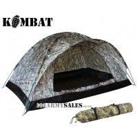 Kombat Ranger 2 Man Single Skin Lightweight Dome Tent BTP Camo MTP Alternative