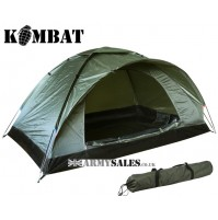 Kombat Ranger 2 Man Single Skin Lightweight Camping Dome Tent Army Olive Green