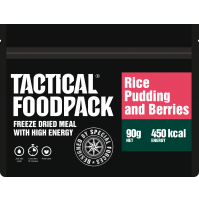 Tactical Foodpack Rice Pudding & Berries High Energy Freeze Dried Meal