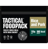 Tactical Foodpack Rice & Pork High Energy Freeze Dried Meal