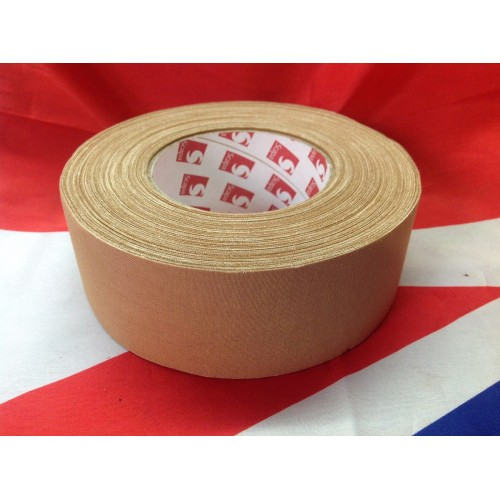 Scapa 5cm x 50m Desert Tan Sniper / Webbing Repair Tape in a handy pocket sized roll Genuine British Army Issue