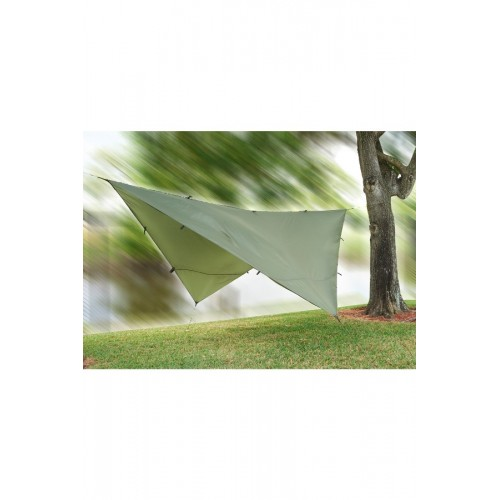 Snugpak ALL WEATHER SHELTER Tarp Shelter with Stuff Sack, Guy Ropes and Pegs