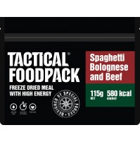 Tactical Foodpack Spaghetti Bolognese High Energy Freeze Dried Meal