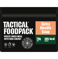 Tactical Foodpack Spicy Noodle Soup High Energy Freeze Dried Ration Pack / MRE