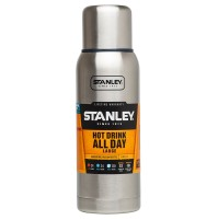 Stanley Adventure 1 Litre Vacuum Bottle - Stainless Steel