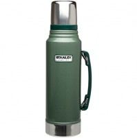 Stanley Legendary Classic Hammertone Green Vacuum Bottle (Thermos Flask) 1L